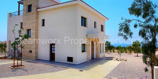 3 Bedroom Golf Luxury Villa For Sale In Kouklia Paphos