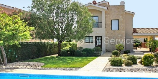 4 Bedroom Golf Luxury Villa For Sale in Kouklia, Paphos