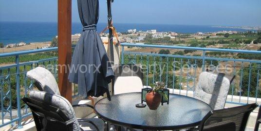 2 Bedroom Apartment For Sale In Kissonerga Village, Paphos