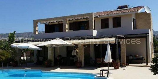 4 Bedroom Luxury Detached Villa For Rent In Tala, Paphos