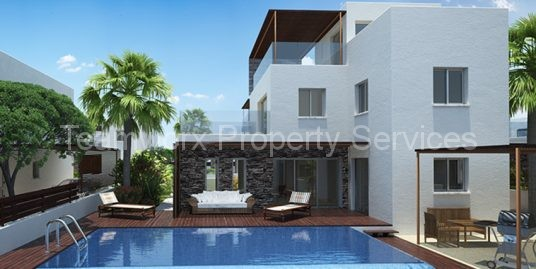 4 Bedroom Seaview Exclusive Luxury Villa For Sale in Paphos