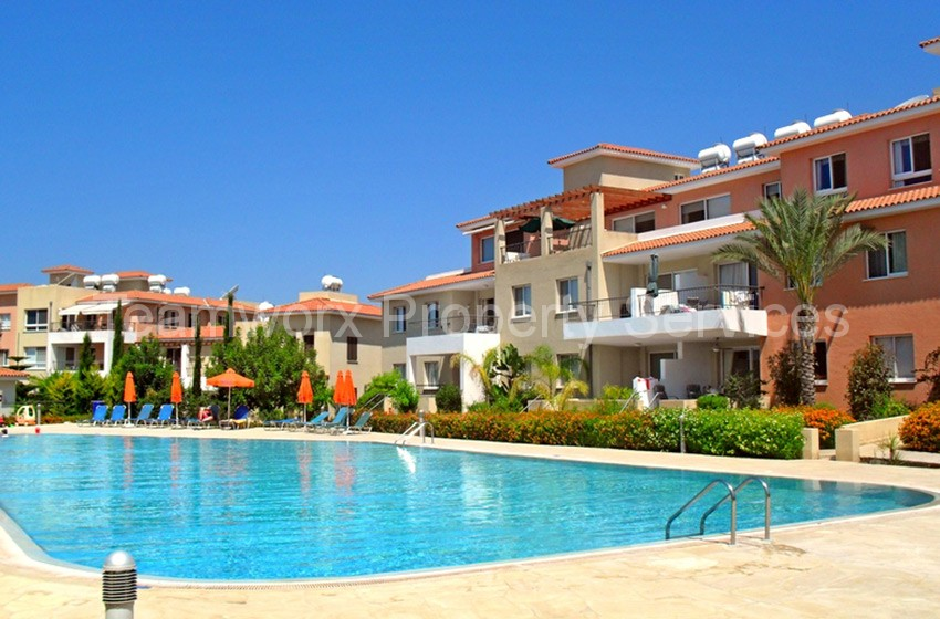 2 Bedroom Apartment For Sale In Geroskipou Village, Paphos
