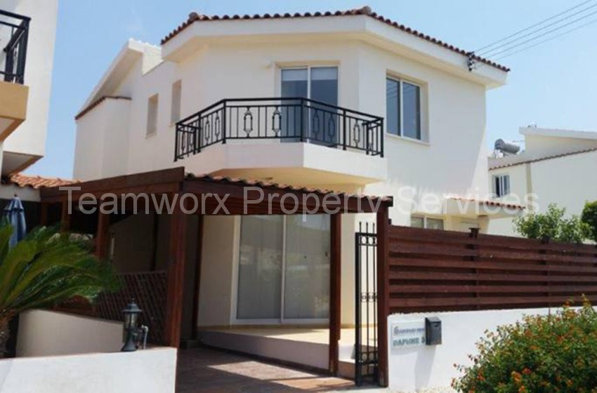 3 Bedroom Luxury Villa For Rent In Paphos