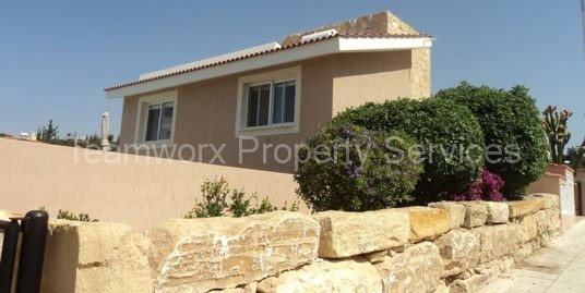 3 Bedroom Detached House For Rent In Tala, Paphos