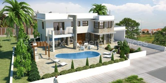 4 Bedroom Luxury Villa For Sale In Dhekelia, Larnaca
