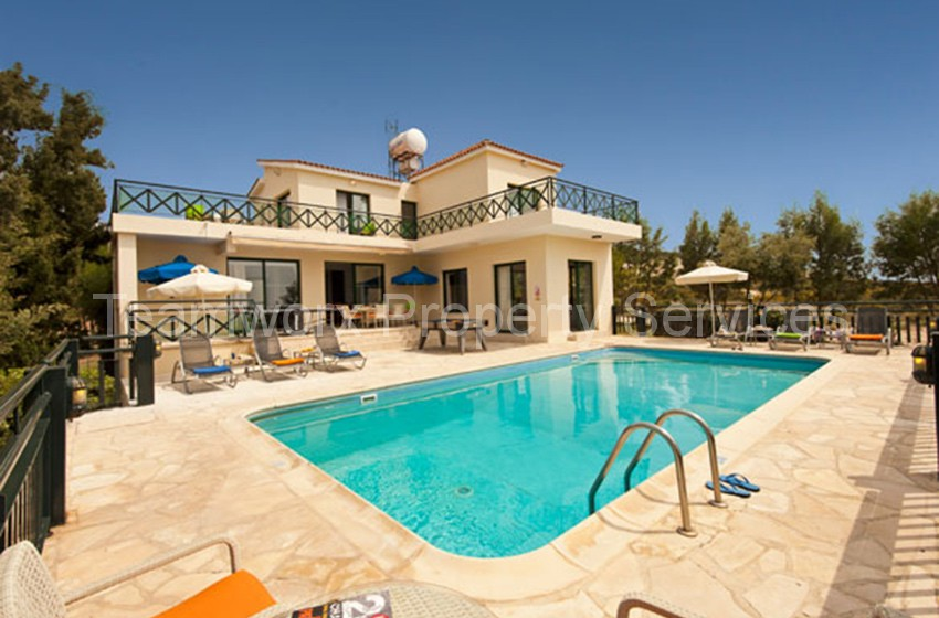 4 Bedroom Villa For Rent In St. George, Paphos
