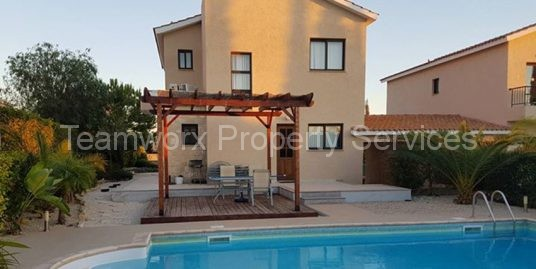 3 Bedroom House For Rent In Secret Valley, Paphos