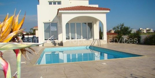 3 Bedroom Seafront Villa For Sale In Ayia Thekla, Famagusta