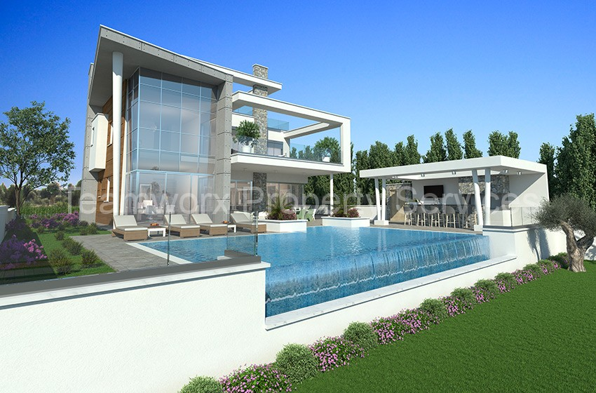 5 Bedroom Luxury Villa For Sale In Parekklisia, Limassol