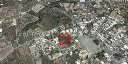 Plot For Sale In Kissonerga, Paphos