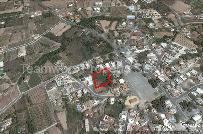 Plot For Sale In Kissonerga, Paphos
