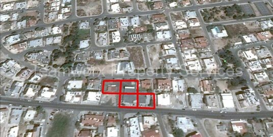 4 Plots with Buildings For Sale In Ayios Theodoros, Paphos