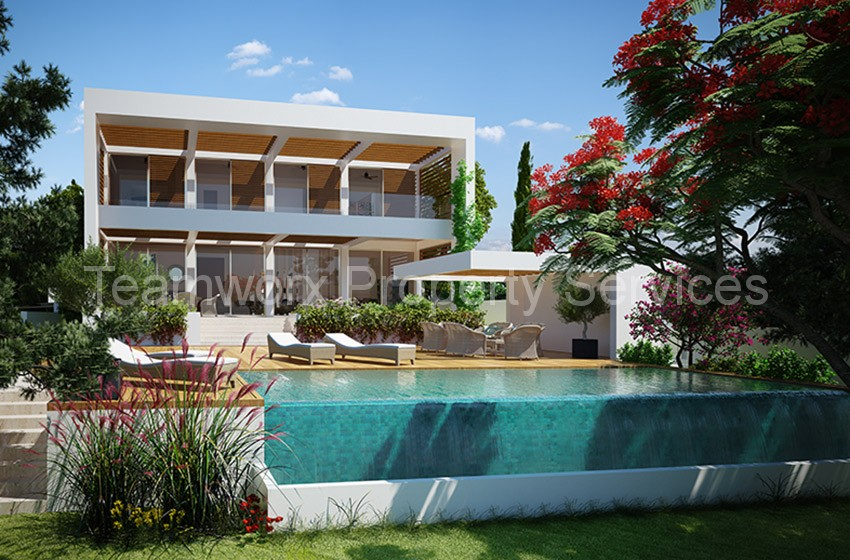 3 bedroom villa for sale in ayios athanasios limassol buy cyprus property - Creative home with beautiful panorama to provide total comfort living ...