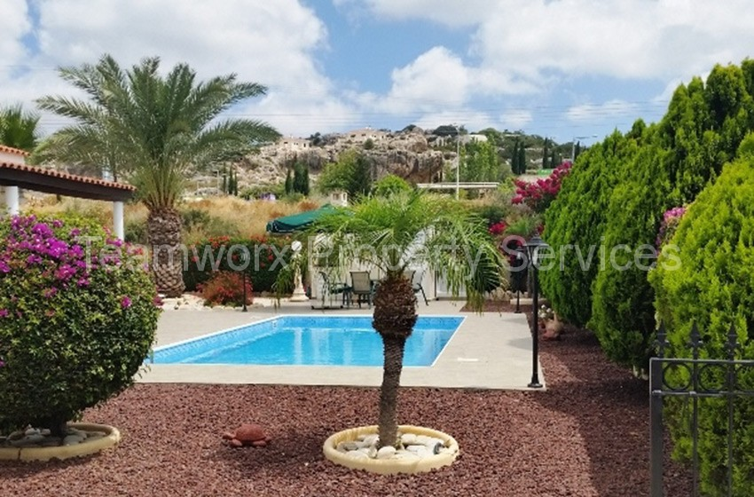 2 Bedroom Bungalow For Sale In Coral Bay, Paphos