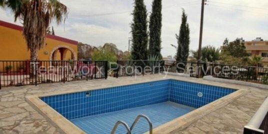 3 Bedroom Bungalow For Sale In Anarita, Paphos