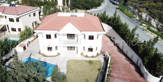 4 Bedroom Luxury Villa Agios Tychonas for Sale