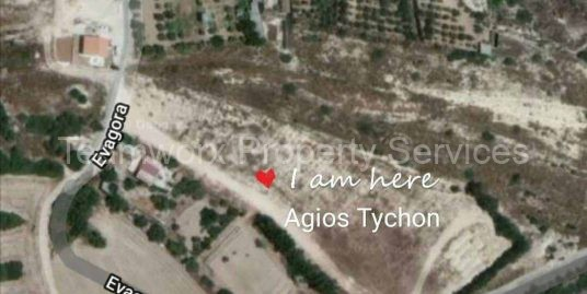 1125 sq/m Plot For sale in Agios Tychonas